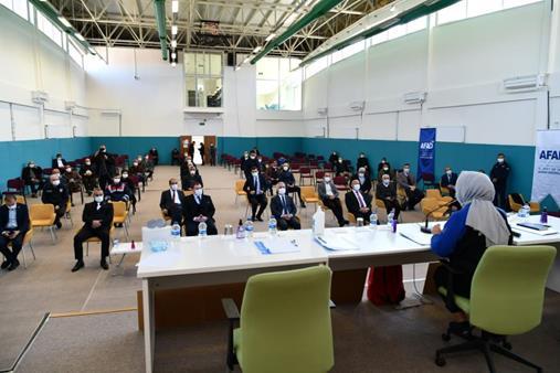 Şarkikaraağaç'ta Afet Farkındalık Eğitimi Düzenlendi