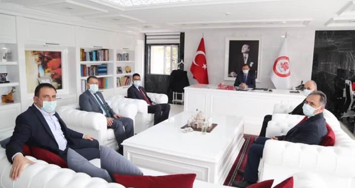 Türk Sağlık-Sen Yöneticileri'nden Isparta Çıkarması