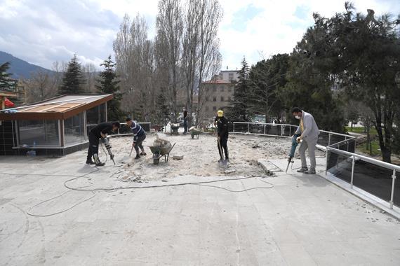 Atatürk Parkı Modern Yüzüne Kavuşacak