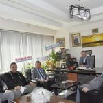 Başkan Gök, Gazeteciler Cemiyeti'ni Ziyaret Etti