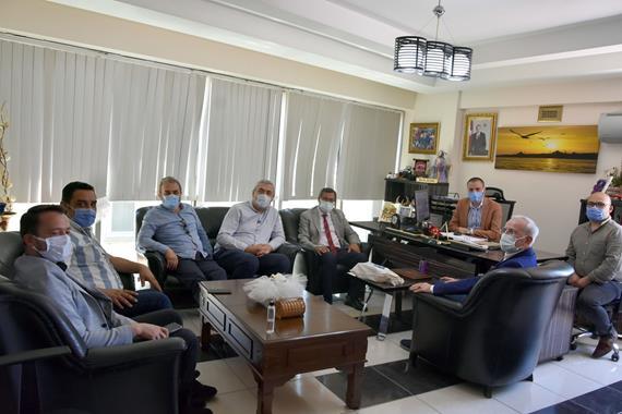 ISUBÜ'den Gazeteciler Cemiyetine Ziyaret