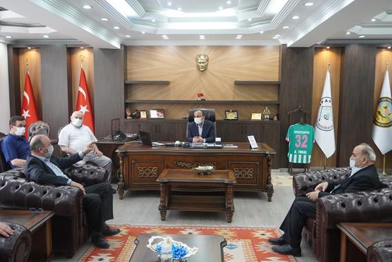 Saadet Partisi'nden Esnaf Odaları Birliği'ne Ziyaret