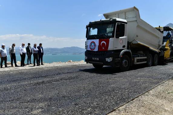 630 Km'lik Yol İçin 250 Milyon Lira Harcama Yapıldı