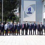 Bangladeş ve Cezayir Büyükelçileri ISUBÜ'yü Ziyaret Etti