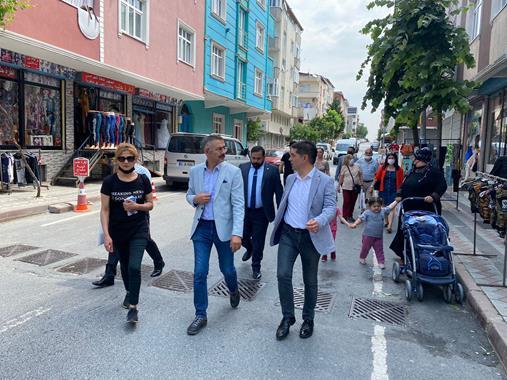 Başkan Halıcı, Saha Çalışması İçin İstanbul'da