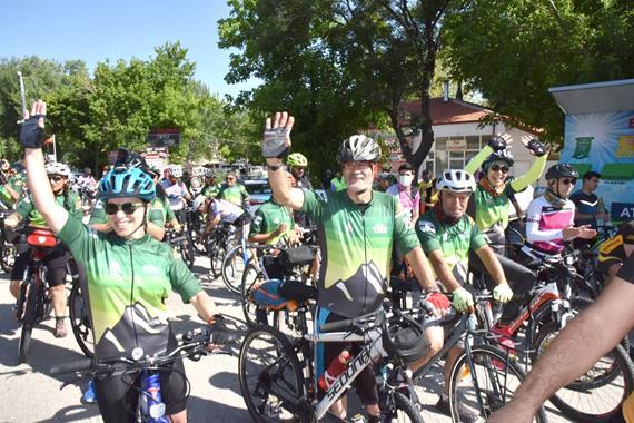 Bisiklet Festivali Eğirdir'den Başladı