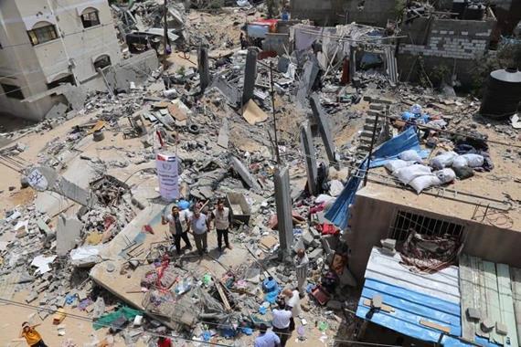 Gazze'nin Yeniden İmarı İçin!