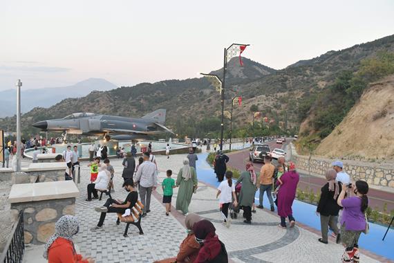 Şehrin Seyir Terası Hizmete Açıldı