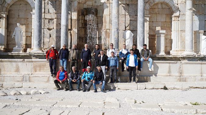 Isparta'dan Sagalassos'a 14 Kilometrelik Turizm Yolu